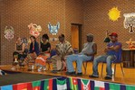 <p>Vado Diomande, director of Kotchegna Dance Company, explains the tradition of dancing and drumming in Cote d'Ivoire.</p>
