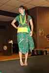 <p>Shabnam Thapa, ASU computer science grad student, models traditional clothing from Nepal.</p>