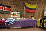 <p>An exhibit table for the country of Colombia.</p>