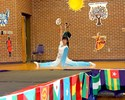 <p>Jin Cheng, Chinese Fulbright FLTA, finishes her lovely Chinese dance witha beautiful split!</p>