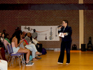 <p>Ms. LLJuna Weir, Director of Educational Equity and Inclusion, was the Mistress of Ceremonies for the 2018 Multicultural Festival.</p>