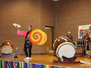 <p>Another part of the performance by the Taikoza Japanese Taiko Drum and Dance group.</p>
