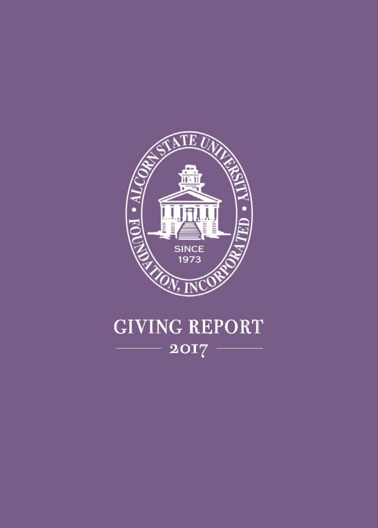2017 Foundation Giving Report