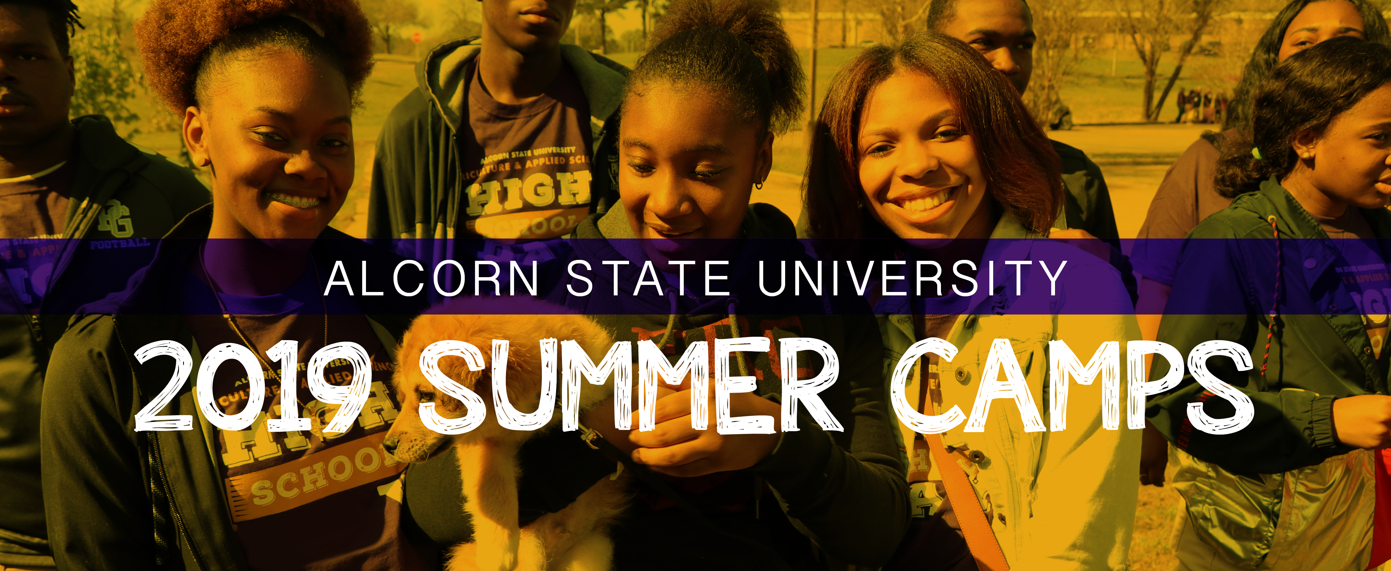 Alcorn State University 2019 Summer Camps Flyer