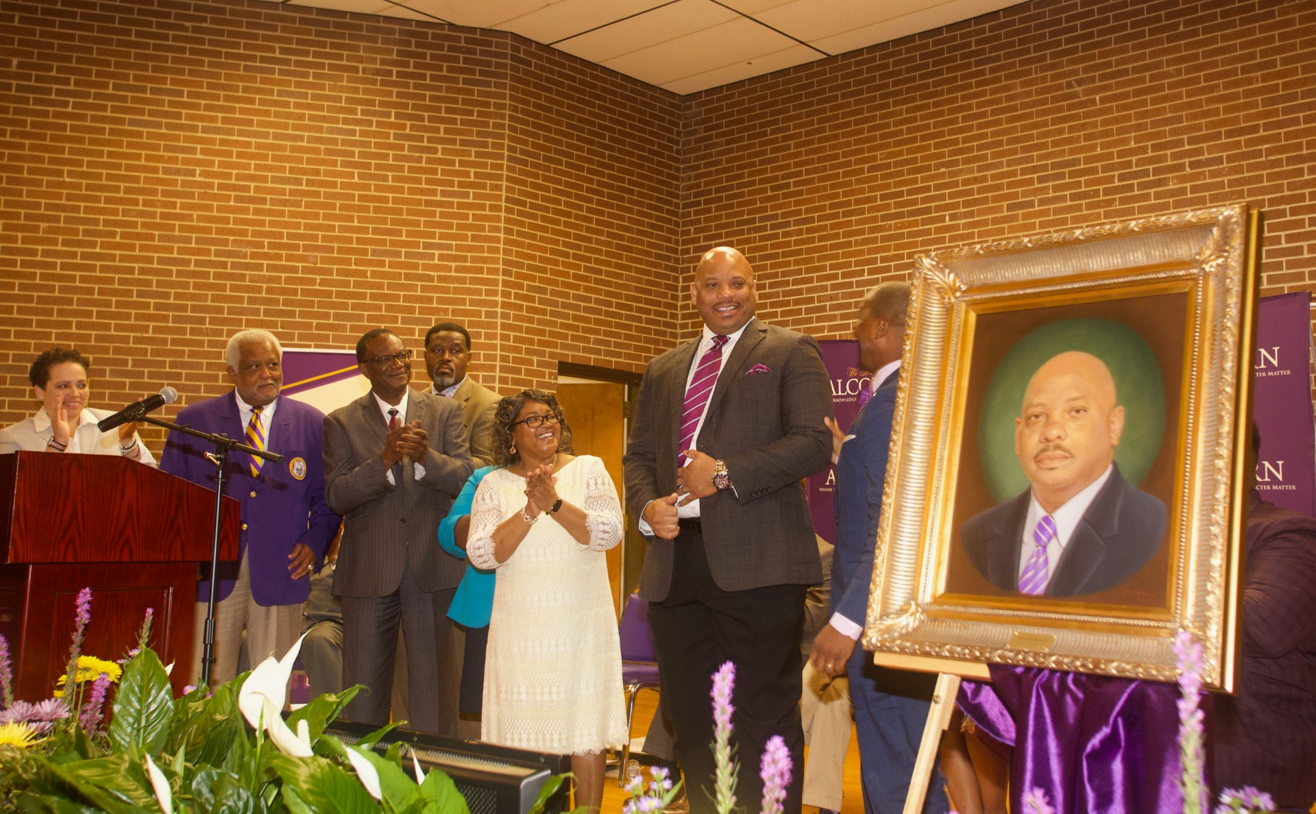 Alcorn community honors 19th President Alfred Rankins at farewell celebration
