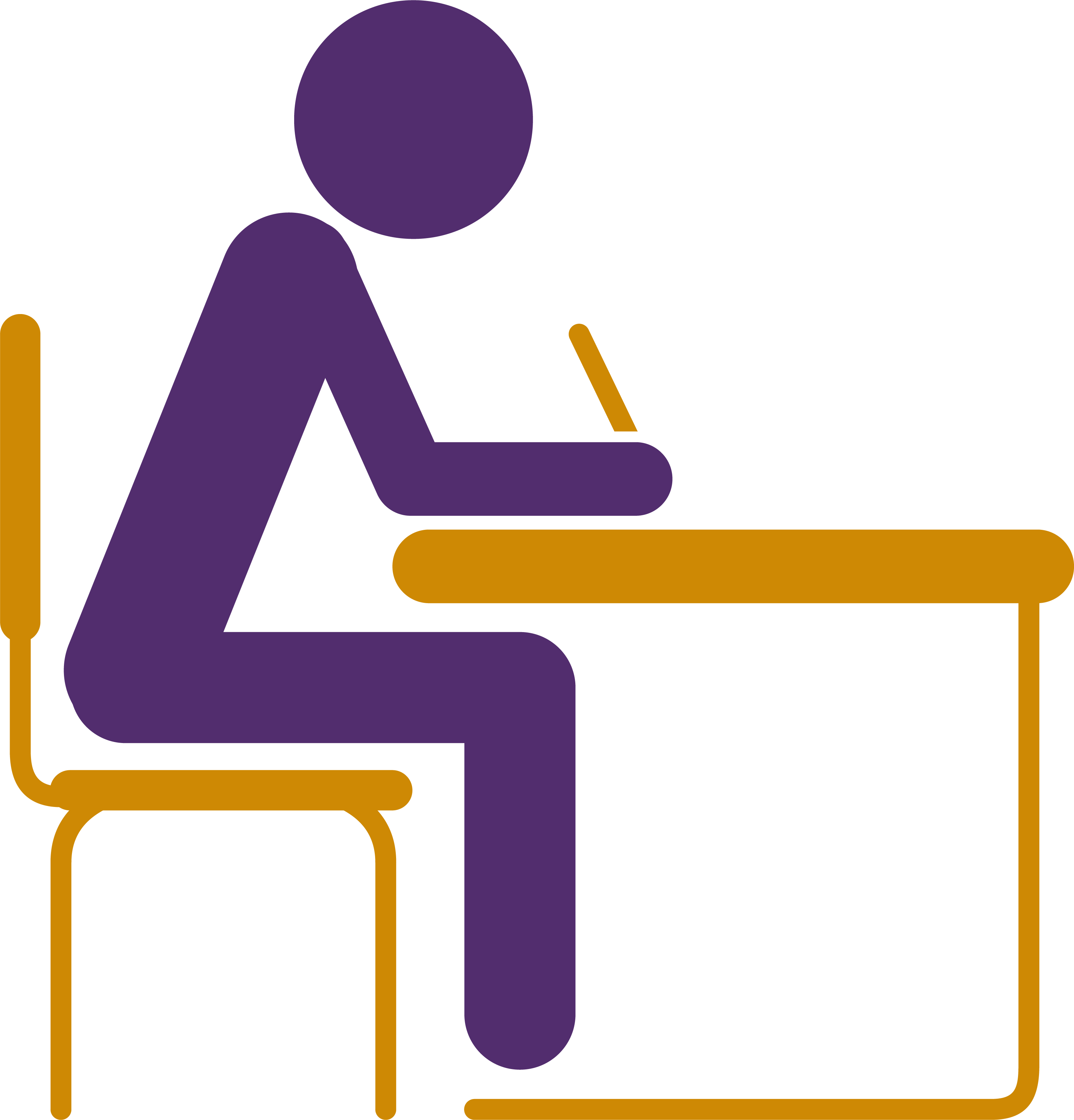 (Picture of a student sitting at a desk)