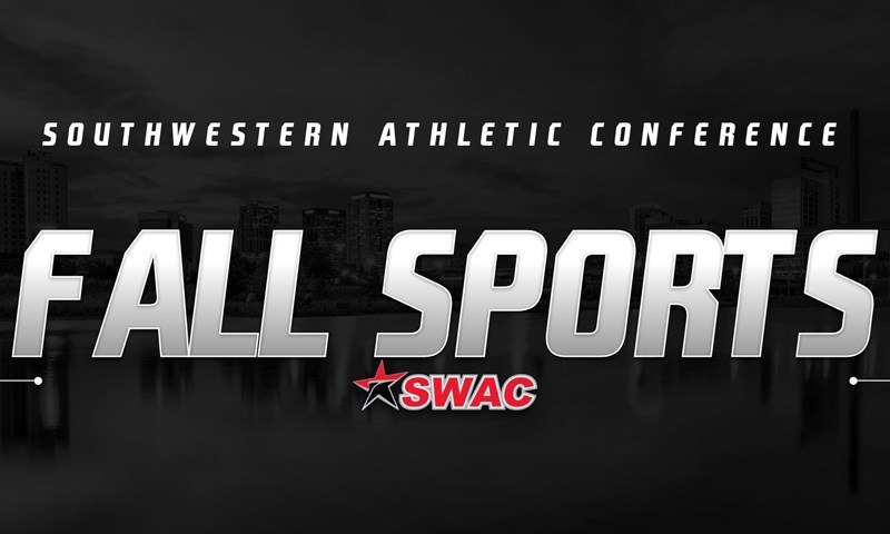 Southwestern Athletic Conference. Fall Sports. (SWAC logo mark)