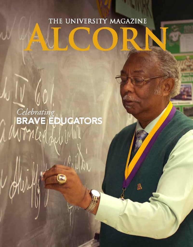 Cover of Spring 2017 Edition of Alcorn Magazine