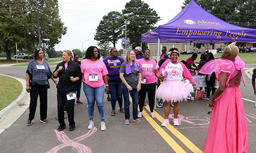 Alcorn's Ag Extension Department joins in the continuous fight against breast cancer