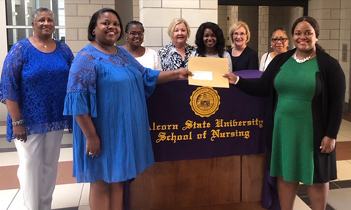 Hard work earns Charrain Fairley the 2019 Eliza Pillars Registered Nurses of Mississippi Scholarship
