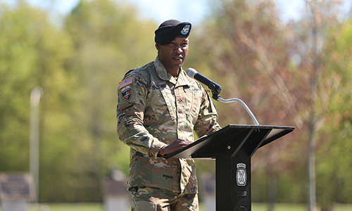 Alumnus Col. Damon Harris named brigade commander of the 2nd Brigade Combat Team in New York