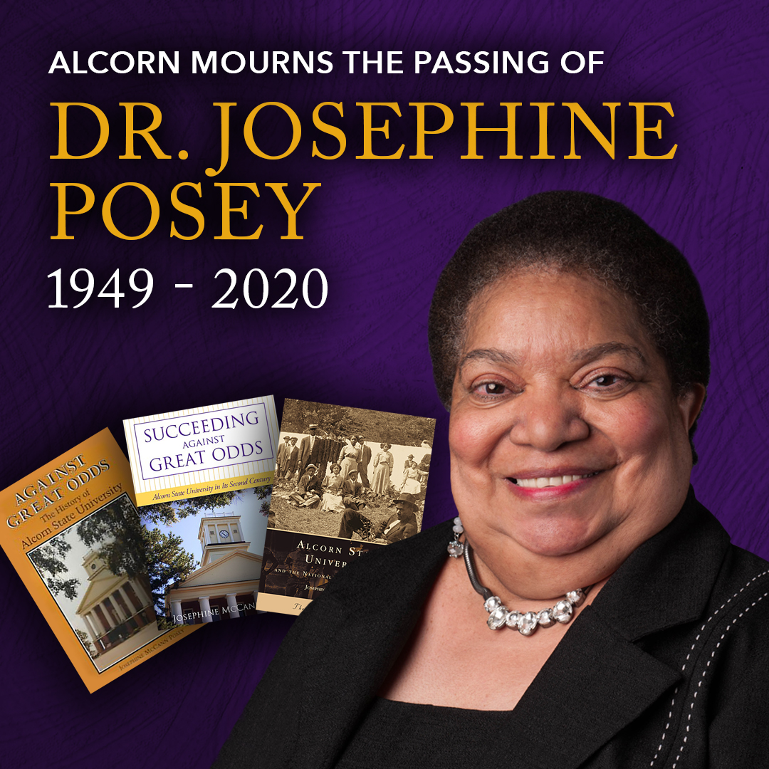 Funeral arrangements for beloved Alcornite, Dr. Josephine Posey, set for January 24, 25