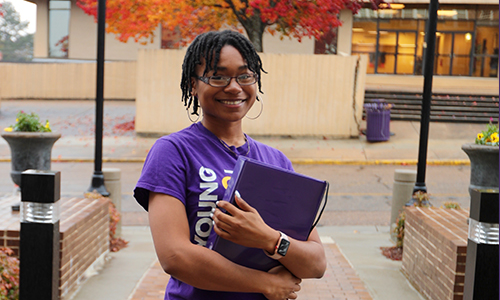 Alcorn senior Keturah Bush becomes the first Alcorn student to land an internship with the Mississippi Legislative Budget Office