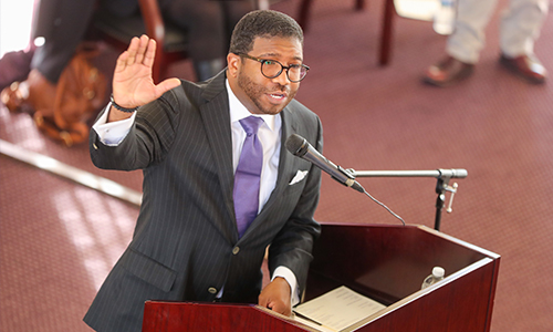 The Rev. Dr. C. Edward Rhodes talks faith and perseverance during Alcorn's Dr. Martin Luther King Jr. Virtual Convocation