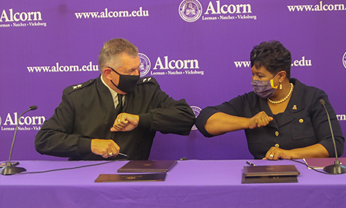 Alcorn, Mississippi National Guard begins collaboration to form Braves Free Tuition Program