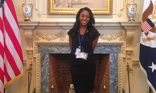 Junior Mya Stevenson attends exclusive Cox-State Department Diplomacy Seminar in Washington D. C.