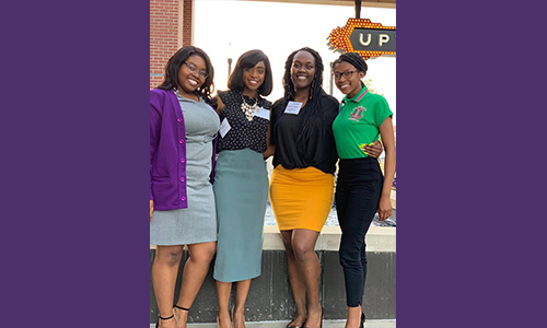 Mass communications students gain valuable professional reporting exposure during NABJ Conference in Alabama