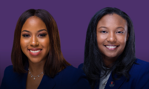 Whitney Jackson '17 and Seqouia Smith '17 earn Juris Doctors from the University of Mississippi School of Law