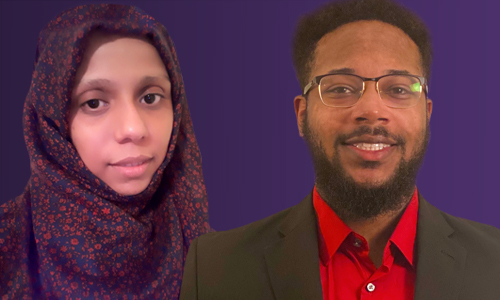 Two Alcorn graduate students receive the 2020 IBM Master's Fellowship Award