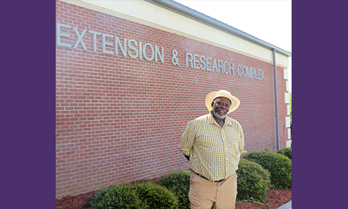 Perry Brumfield looks back on a rewarding career in agriculture as he approaches retirement from Alcorn