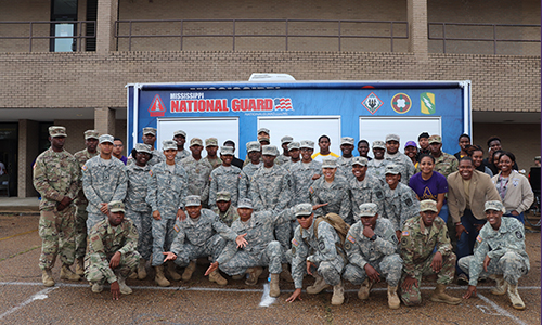 ROTC's Military Appreciation Basketball and STEM Van Experience moved to Feb. 10