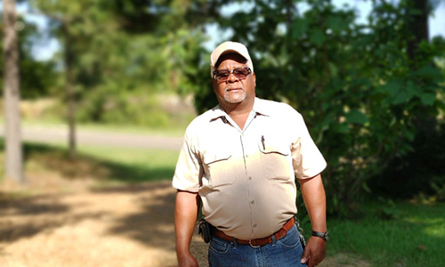 Samuel Brinkley, longtime facilities management manager, retires from Alcorn after 31 years