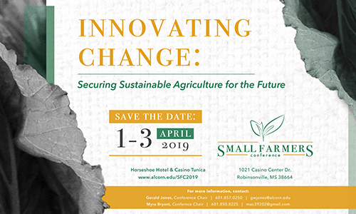 Alcorn Extension to host annual Small Farmers Conference