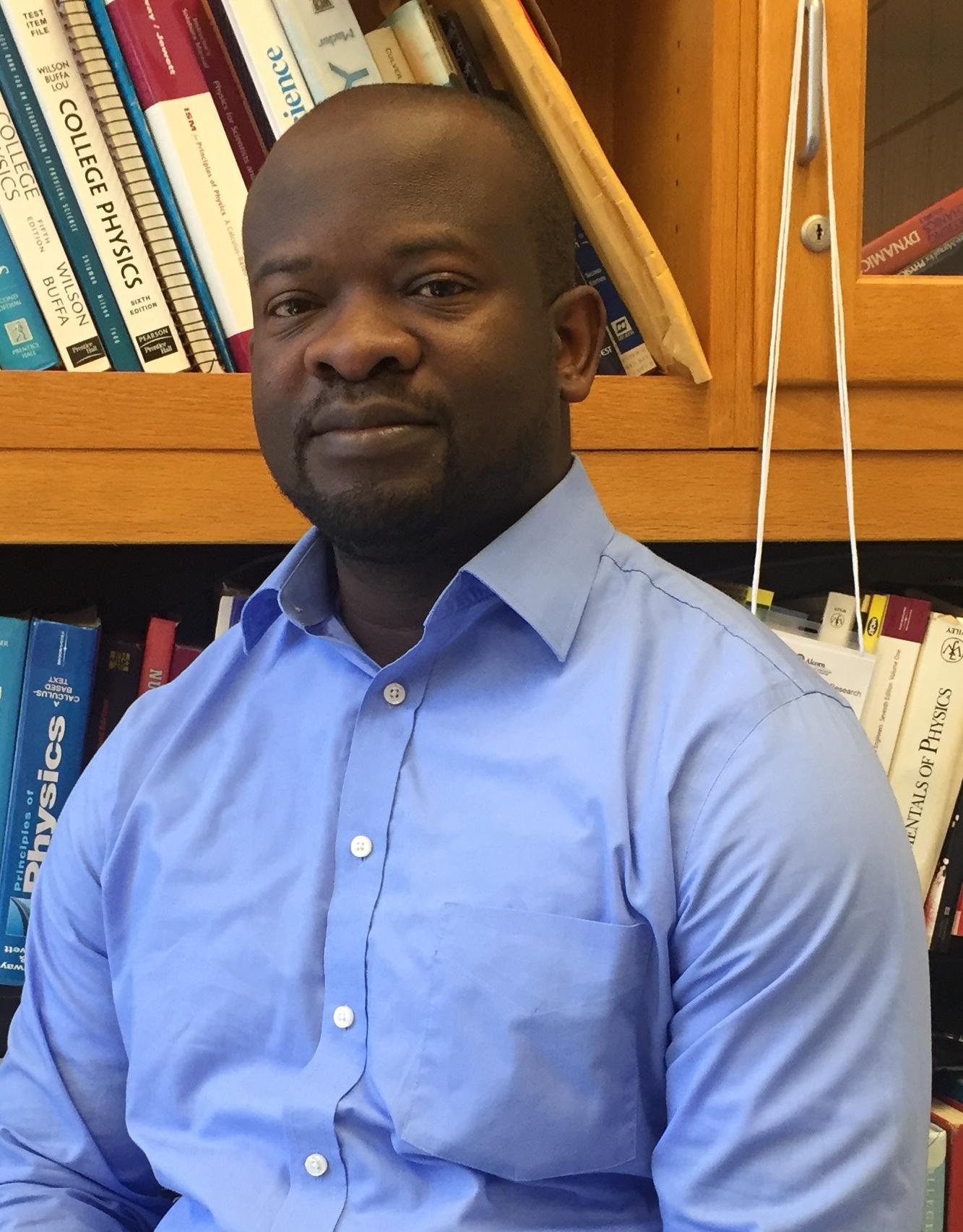 Dr. Herve Sanghapi, Assistant Professor of Physics